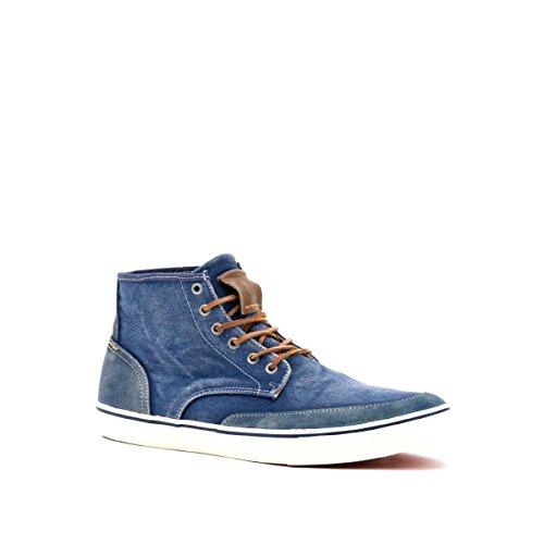 CAFèNOIR , Baskets pour homme Bleu - Blu