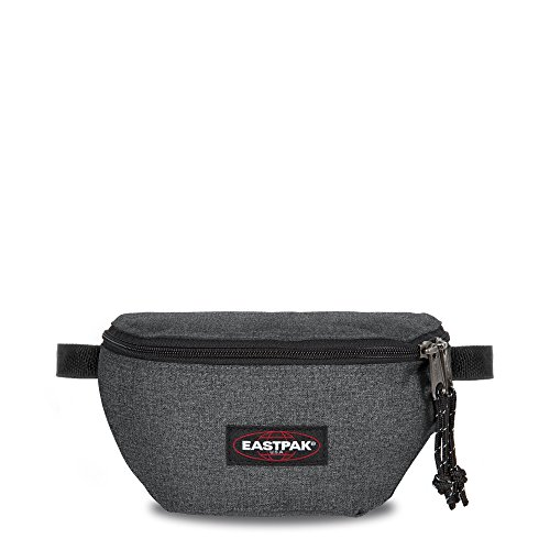 Eastpak Springer Riñonera, 2 litros, Negro (Black Denim)