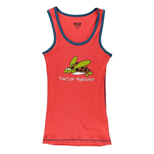 LazyOne Unisex Turtley Awesome Pyjama Tank Top Erwachsenen Large -