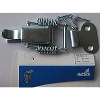 Stahl verzinkt 15 x 56 mm 89236 Hettich Kistenverschlu/ß 1 St/ück