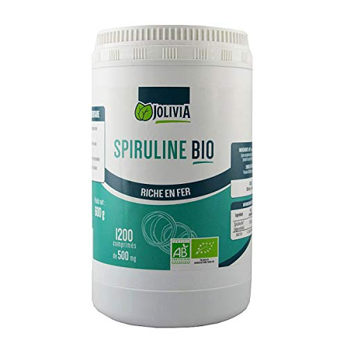 Spiruline Bio AB 1200 comprimés 500 mg
