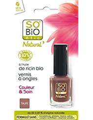 SO'BiO étic Couleur & Soin Vernis à Ongles 02 Tendre Taupe 10 ml