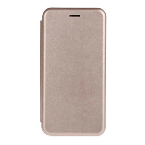 Cover per iPhone 7, Tpulling Custodia per iPhone 7 Case Cover Copertura della cassa del cuoio del raccoglitore di vibrazione magnetica per il iPhone 7 (Rose Gold) Rose Gold