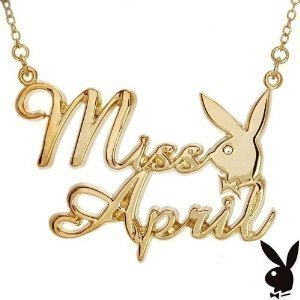 playboy-gold-plated-miss-april-necklace
