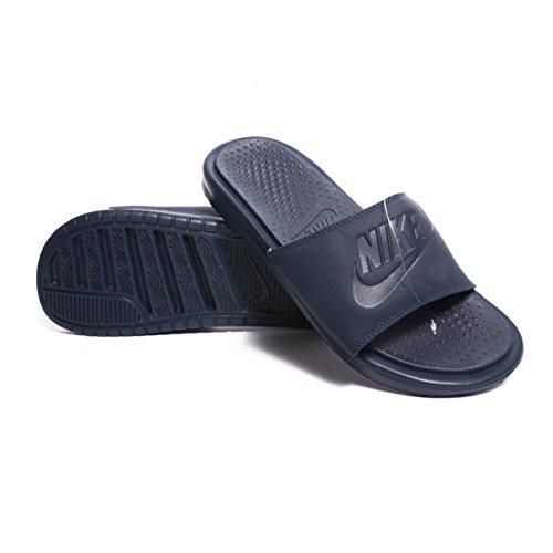 Nike Benassi Jdi Ultra Prem, Scarpe da Fitness Uomo Blu (Azul Marino (Midnight Navy / Midnight Navy))