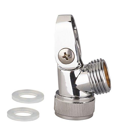 Eisl Brause-Gelenkstück, Messing verchromt, hochwertige Ausführung gemäß Trinkwasserverordnung, inkl. 2 Silikondichtungen,  ET6420BG