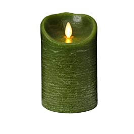 LUMINARA LED candle Green / fragrance: Forest 5 inches [LM101-GR] LM101 (GR) (japan import)