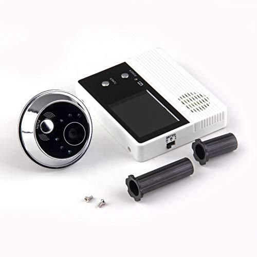 2,4 TFT-LCD-Bildschirm Digital Eye Viewer Videokamera-Türsprechanlage, Türsprechanlagenmonitor Freisprecheinrichtung Gegensprechanlage Home Security Türklingel - Weiß & Schwarz - Screen Home Doors Security