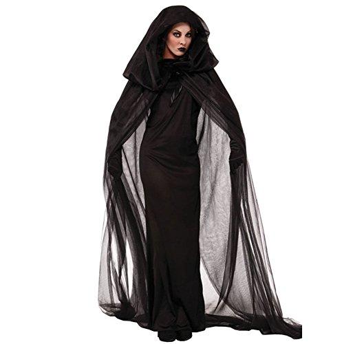 Sorcire-Halloween-Costume-Deguisement-LATHPIN-Sorcire-Robe-Noir-Anime-Cape-Jupe-Longue-Costume-Vampire-Cosplay-pour-Nol-Halloween-Party