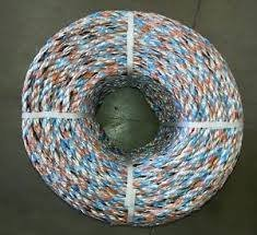 More Than Just Ropes Multi Colour Polypropylene Rope / Split