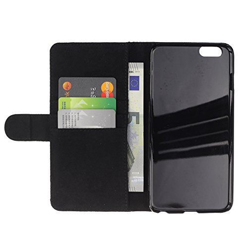 "Graphic4You Rome Colosseum Postkarte Ansichtskarte Design Brieftasche Leder Hülle Case Schutzhülle für Apple iPhone 6 Plus / 6S Plus (5.5"") Venice #3"