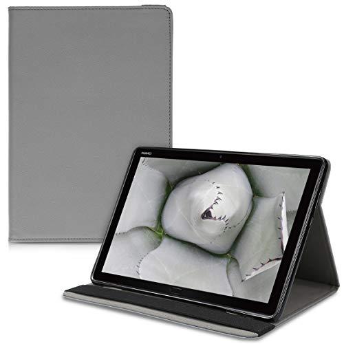 kwmobile Huawei MediaPad M5 Lite 10 Hülle - Tablet Cover für Huawei MediaPad M5 Lite 10 - Slim Case in Anthrazit
