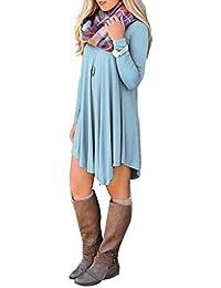 Zarlena - Vestido - plisado - para mujer