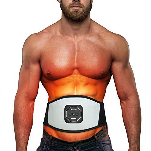 YUSDP 360° Intelligente Schlankheitsmassage Gürtel-12 Modi für Weight Loss, imitieren biologische mikroelektronische Technologie - Bauch-Fett-Brenner für Frauen Männer (Ab Gürtel Brenner)