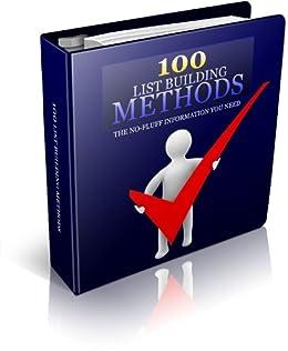 100 List Building Methoden (Web Traffic Package 3)