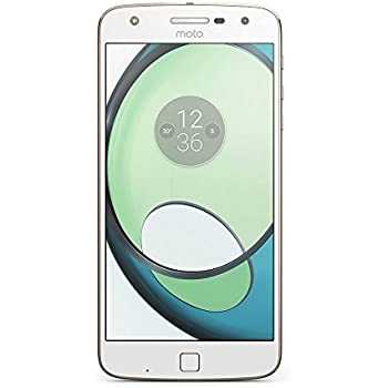 Motorola Moto Z Play Smartphone (14 cm (5,5 Zoll), 32 GB, Android) Weiß/Fine Gold