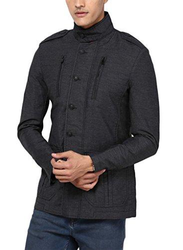 Mufti Cotton Blazer-msb-504-grey