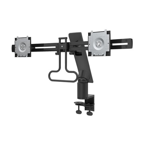 Dell mda17 Clamp Black Flat Panel Desk Mount - Flat Panel Desk Mounts (Computer Monitor, Clamp, 0 - 90 °, 180 °,-20 - 60 °, Black)