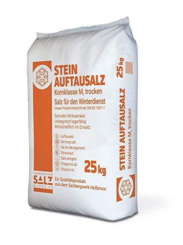 Preisvergleich Produktbild Streusalz / Stein-Auftausalz / Auftausalz 25 kg