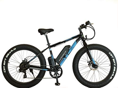 Bicicleta eléctrica, Fat Bike, FC Gredos, Bicicleta de montaña, e Bike, 250W, 36V, Motor Trasero...