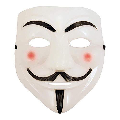 ZOUQILAI Halloween White Mask Maskerade Party Kostüme Requisiten -
