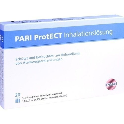 Pari Protect Inhalationslösung mit Ectoin Ampullen 20X2.5 ml
