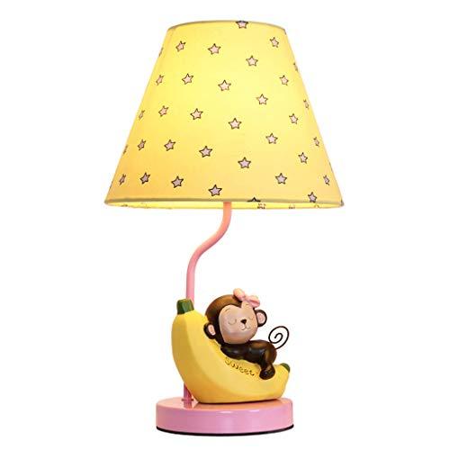 ZHANG NAN  * Cartoon Kinder Tischlampe Schlafzimmer Nachttischlampe Warm Kreative Romantische Moderne Minimalistisches Design...