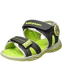Bubblegummers Boy's ABEL Green Indian Shoes-6 Kids UK/India (24 EU)(1617624)
