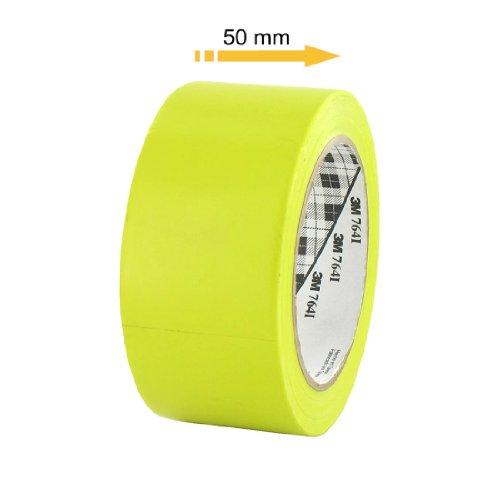 ruban-adhesif-vinyle-3m-764-jaune-50mm