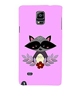PrintVisa Cute Cat Flower 3D Hard Polycarbonate Designer Back Case Cover for Samsung Galaxy Note Edge :: Samsung Galaxy Note Edge N915FY N915A N915T N915K/N915L/N915S N915G N915D