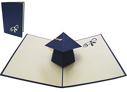 POP UP 3D Grußkarte Doktorhut Herzlichen Glückwunsch zur bestanden Prüfung Abitur Diplom Doktor (#29)