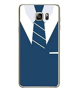 PrintVisa Designer Back Case Cover for Samsung Galaxy Note 5 :: Samsung Galaxy Note 5 N920G :: Samsung Galaxy Note5 N920T N920A N920I (Suit Coat Blazer Ties Corporate Dress)