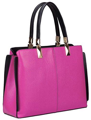 Kukubird Spencer Semi Ecopelle Cornered Wing Design Shoulder Bag Pink