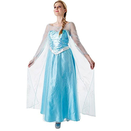 Rubie's 3810243 - Elsa Frozen - Adult, Action Dress Ups und Zubehör, ()