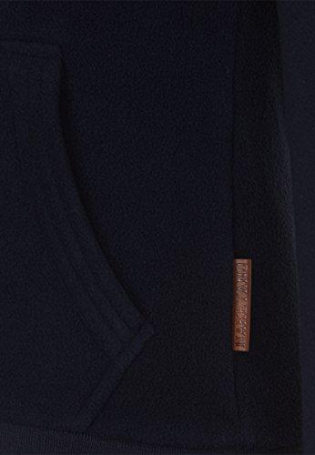 Naketano Gigi Meroni V W sweat zippé à capuche Dark Blue