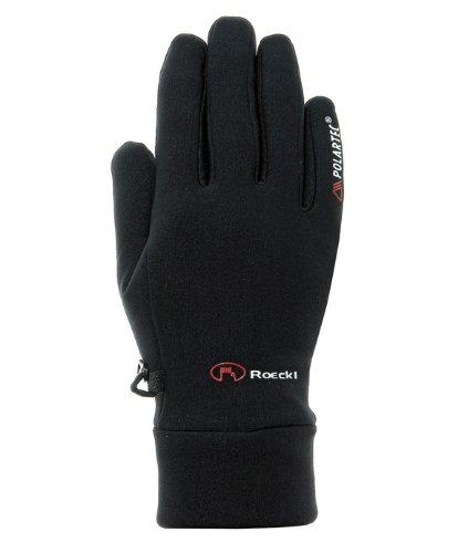 Roeckl Erwachsene Kasa Handschuhe, Schwarz, 7