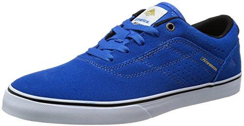 Emerica - The Herman G6 Vulc, Scarpe da skate da uomo Blu (Blue/White)