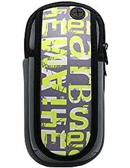Sac de bras de pied de sport en plein air Sac de téléphone portable créatif, vert