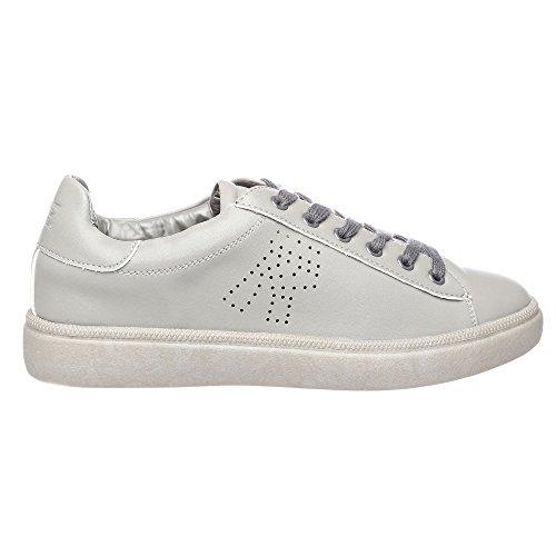 RIFLE Sneakers da uomo, scarpa bassa stringata - Mod. 162-M-383-40 Grigio
