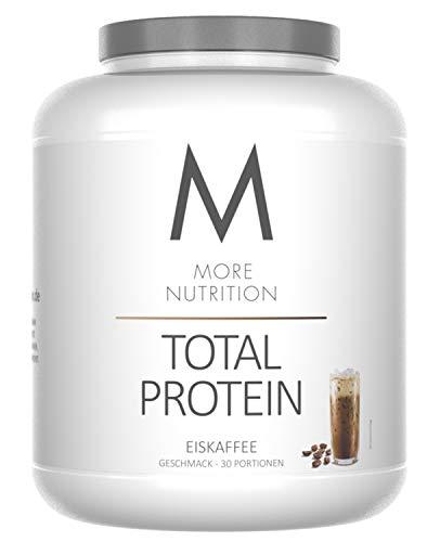 More Nutrition Total Protein - Whey & Casein Zur Optimalen Proteinsynthese 1 x 1500 g (Eiskaffee) (Optimale Ergebnisse Whey Protein)