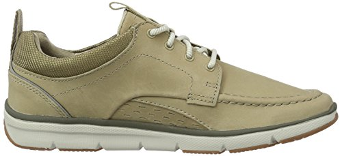 Clarks Orson Bay, Sneakers Basses Homme Beige (Sand Nubuck)
