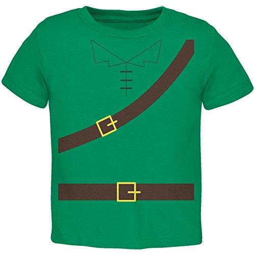 Kostüm Hood Kleinkind Robin (Halloween Robin Hood Kostüm grün Kleinkind T-Shirt-2)