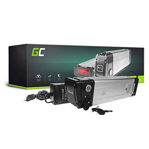 Green Cell EBIKE 36V 23.8Ah Batteria Silverfish Pedelec con Celle Panasonic Li-Ion e Caricabatterie Halfords M2S Flash Emotion Birota Fantic Bicicletta Elettrica