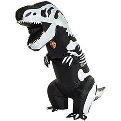 Morphsuits - Disfraz hinchable de esqueleto gigante de tiranosaurio, talla única