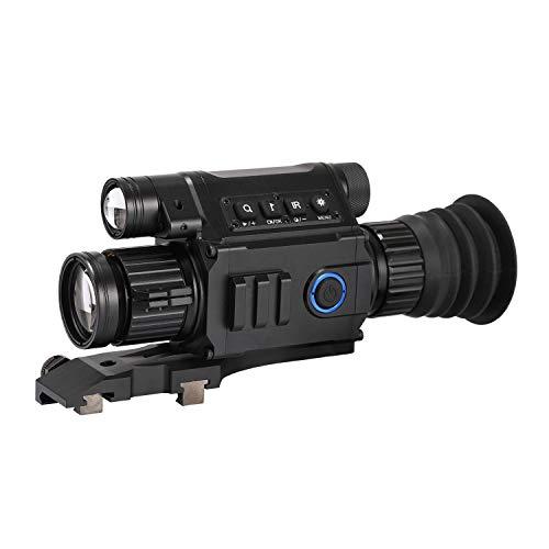 WILDGAMEPLUS® Pard Infrarot-Nachtsichtgerät WiFi APP 6.5-12X IR-Nachtsicht-Zielfernrohr 5w 850nm NV Monokular einstellbar Picatinny Red Dot Sights + Kreuz für Outdoor-Jagd NV008