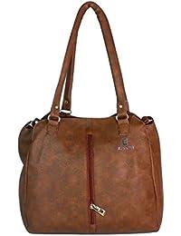 Evookey Women's Handbag ( Brown)