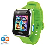 VTech Kidizoom Smart Watch DX2 - Reloj inteligente para niños con doble cámara, color verde (3480-193887)