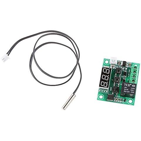 W1209 Termostato Digital Tablero de Control de la Temperatura desde -50 Hasta 110 12V + Sensor