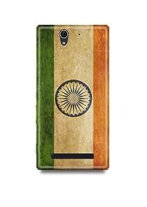 Indian Flag Sony C3 Case