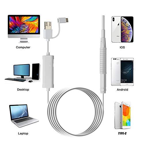 Android Endoscope WiFi Ear Endoscopio Inalámbrico